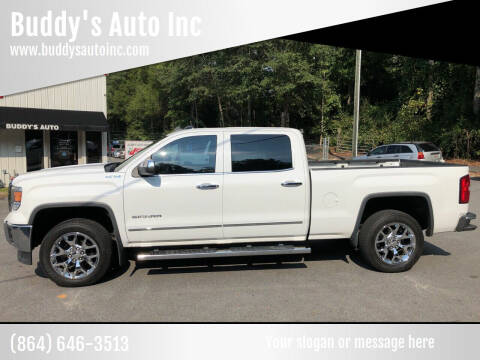 2014 GMC Sierra 1500 for sale at Buddy's Auto Inc in Pendleton SC