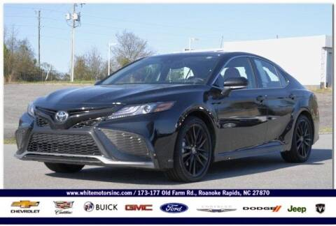 2021 Toyota Camry for sale at WHITE MOTORS INC in Roanoke Rapids NC