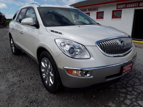 2011 Buick Enclave for sale at Sarpy County Motors in Springfield NE