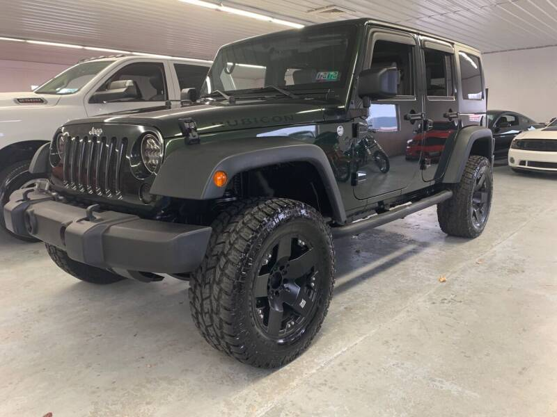2010 Jeep Wrangler Unlimited for sale at Stakes Auto Sales in Fayetteville PA