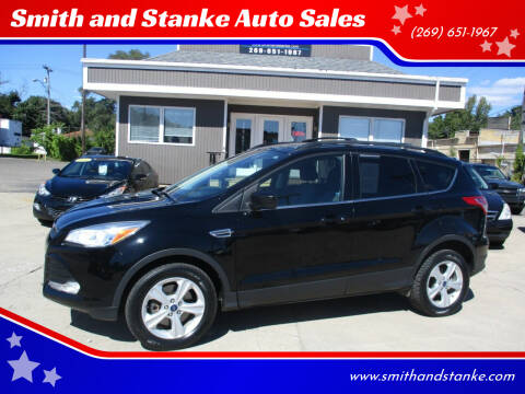 2016 Ford Escape for sale at Smith and Stanke Auto Sales in Sturgis MI