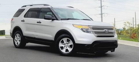 2014 Ford Explorer for sale at BOOST MOTORS LLC in Sterling VA