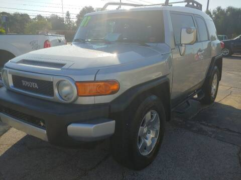 2007 Toyota FJ Cruiser for sale at Autos by Tom in Largo FL