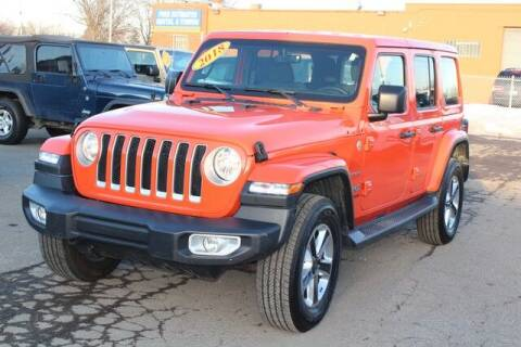 2018 Jeep Wrangler Unlimited for sale at Road Runner Auto Sales WAYNE in Wayne MI