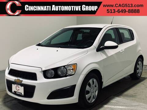 2014 Chevrolet Sonic for sale at Cincinnati Automotive Group in Lebanon OH