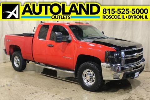 2007 Chevrolet Silverado 2500HD for sale at AutoLand Outlets Inc in Roscoe IL