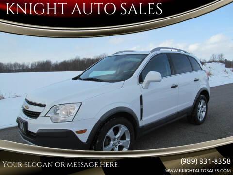 2012 Chevrolet Captiva Sport for sale at KNIGHT AUTO SALES in Stanton MI