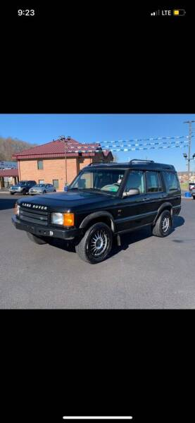 2002 Land Rover Discovery Series II for sale at Trocci's Auto Sales in West Pittsburg PA