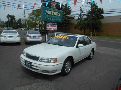 1999 Infiniti I30 for sale at Brookside Motors in Union NJ