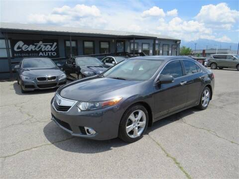 2014 Acura TSX for sale at Central Auto in South Salt Lake UT