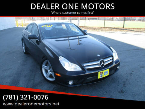 2011 Mercedes-Benz CLS for sale at DEALER ONE MOTORS in Malden MA