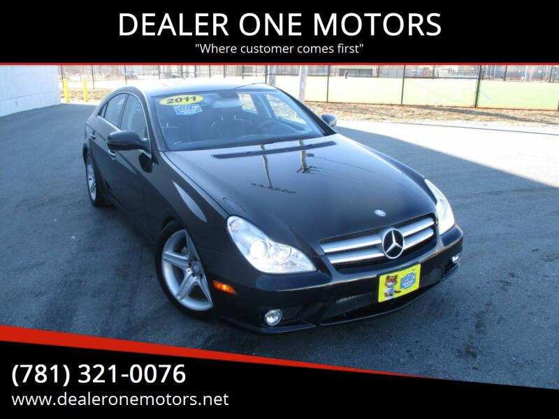 2011 Mercedes-Benz CLS for sale at DEALER ONE MOTORS in Malden MA