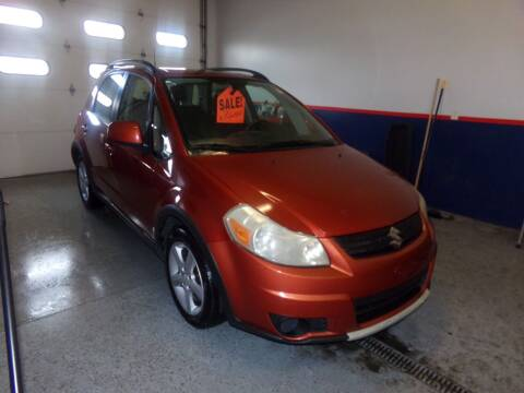2007 Suzuki SX4 Crossover for sale at Pool Auto Sales Inc in Spencerport NY