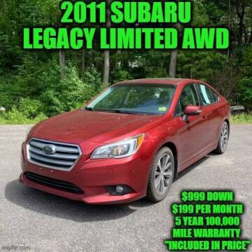 2015 Subaru Legacy for sale at D&D Auto Sales, LLC in Rowley MA