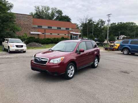 2015 Subaru Forester for sale at DILLON LAKE MOTORS LLC in Zanesville OH