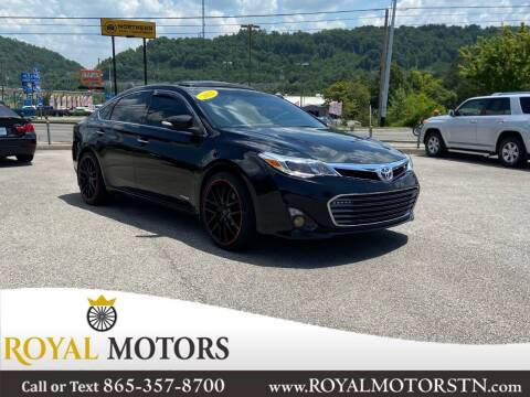 2013 Toyota Avalon Hybrid for sale at ROYAL MOTORS LLC in Knoxville TN