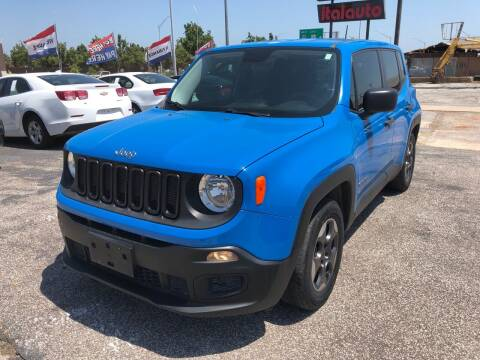 2015 Jeep Renegade for sale at Ital Auto in Oklahoma City OK