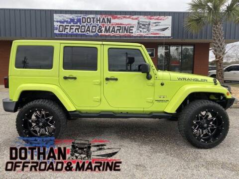 2017 Jeep Wrangler Unlimited for sale at Mike Schmitz Automotive Group in Dothan AL