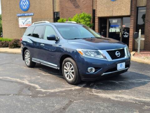 2015 Nissan Pathfinder for sale at Mighty Motors in Adrian MI