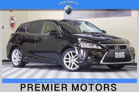2015 Lexus CT 200h for sale at Premier Motors in Hayward CA