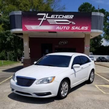 2013 Chrysler 200 for sale at Fletcher Auto Sales in Augusta GA