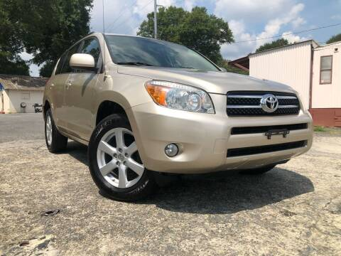 2007 Toyota RAV4 for sale at Atlas Auto Sales in Smyrna GA
