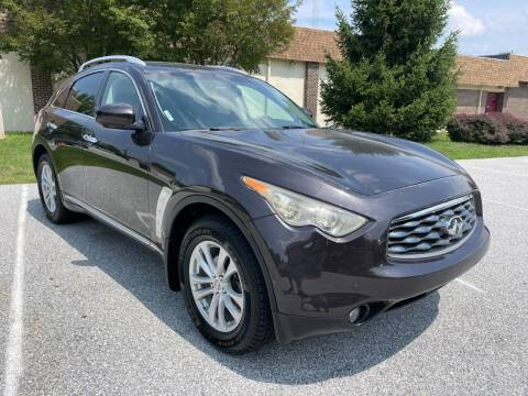 2010 Infiniti FX35 for sale at CROSSROADS AUTO SALES in West Chester PA