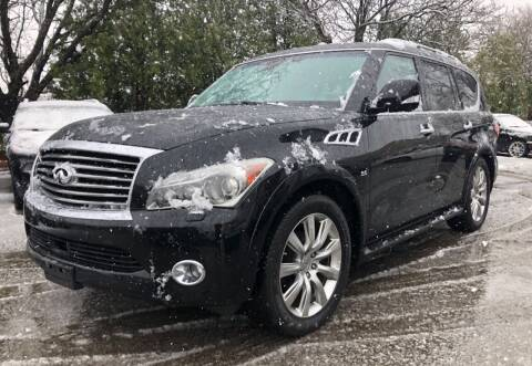 2014 Infiniti QX80 for sale at Ataboys Auto Sales in Manchester NH