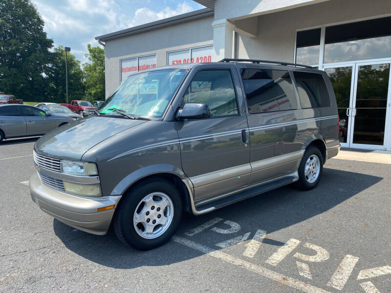 2005 Chevrolet Astro for sale at Keystone Used Auto Sales in Brodheadsville PA