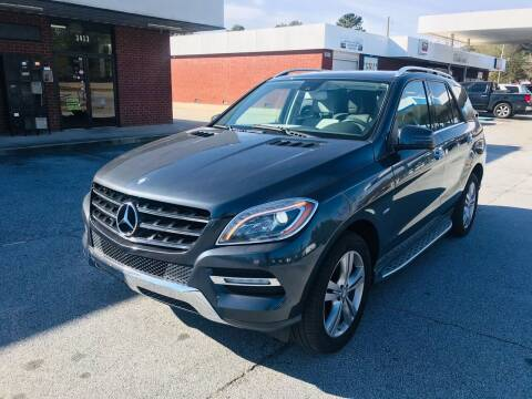 2012 Mercedes-Benz M-Class for sale at Atlanta Motor Sales in Loganville GA