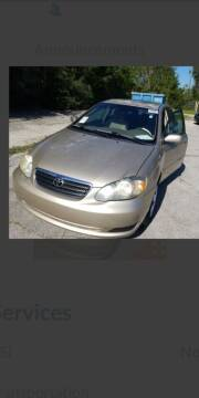 2007 Toyota Corolla for sale at Kidron Kars INC in Orrville OH
