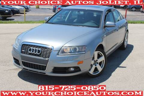 2008 Audi A6 for sale at Your Choice Autos - Joliet in Joliet IL