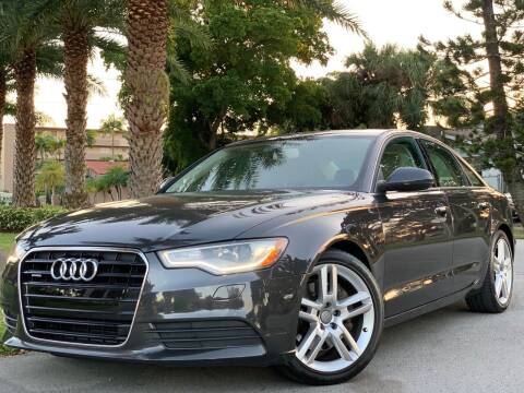 2015 Audi A6 for sale at HIGH PERFORMANCE MOTORS in Hollywood FL