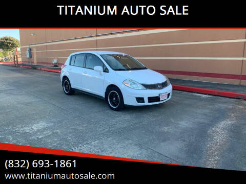 2009 Nissan Versa for sale at TITANIUM AUTO SALE in Houston TX