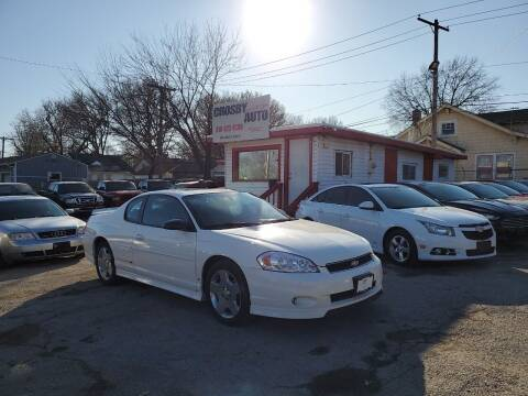 2006 Chevrolet Monte Carlo for sale at Crosby Auto LLC in Kansas City MO