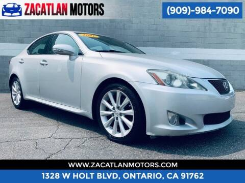 2010 Lexus IS 250 for sale at Ontario Auto Square in Ontario CA