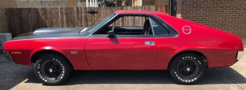 1970 AMC AMX for sale at Classic Car Deals in Cadillac MI