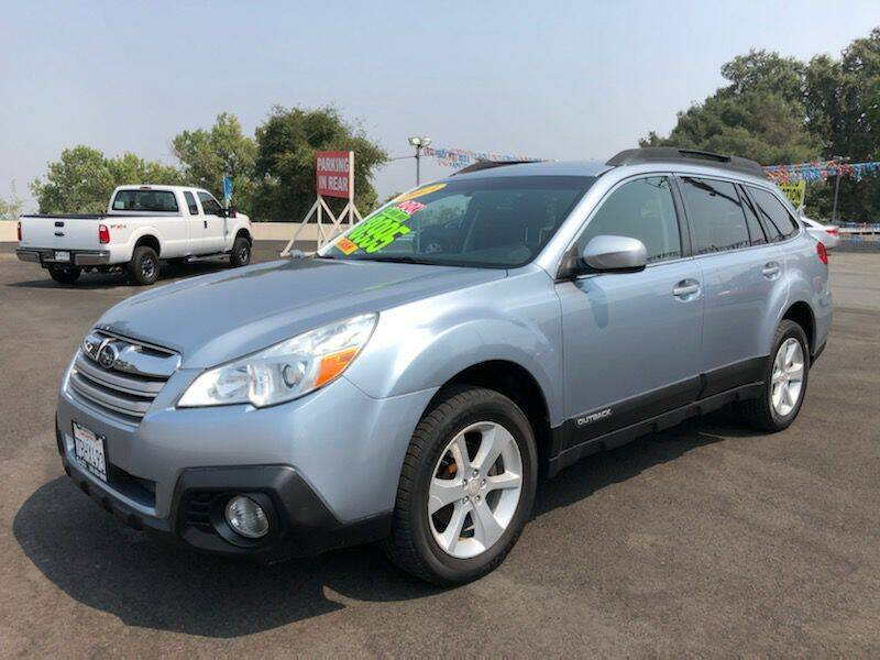 2013 Subaru Outback for sale at C J Auto Sales in Riverbank CA