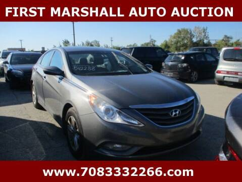 2013 Hyundai Sonata for sale at First Marshall Auto Auction in Harvey IL