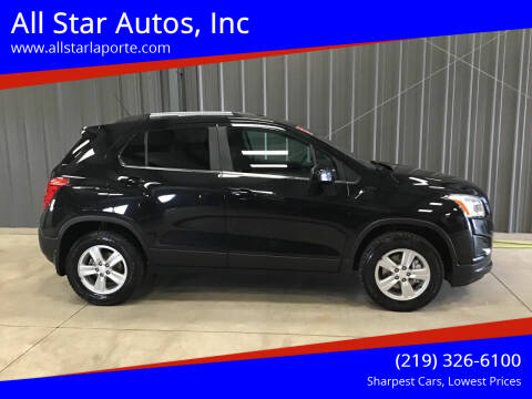 2015 Chevrolet Trax for sale at All Star Autos, Inc in La Porte IN