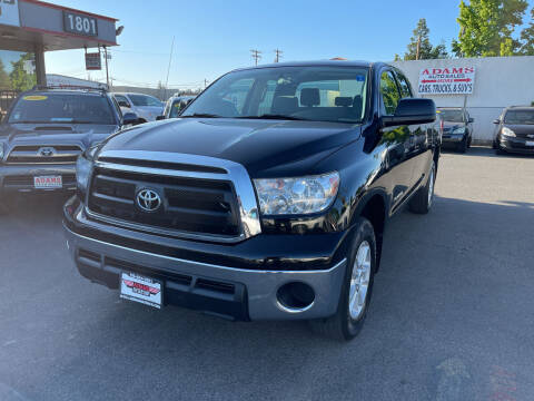 2011 Toyota Tundra for sale at Adams Auto Sales in Sacramento CA
