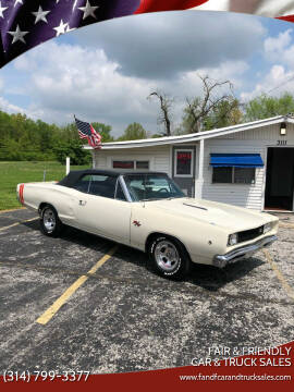 1968 Dodge Coronet for sale at Fair & Friendly Car & Truck Sales in Foristell MO