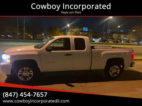 2011 Chevrolet Silverado 1500 for sale at Cowboy Incorporated in Waukegan IL