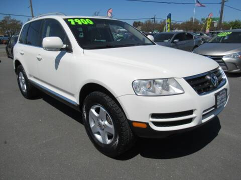 2007 Volkswagen Touareg for sale at Tonys Toys and Trucks in Santa Rosa CA
