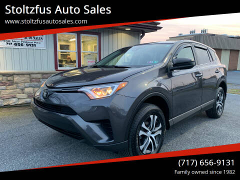 2018 Toyota RAV4 for sale at Stoltzfus Auto Sales in Lancaster PA