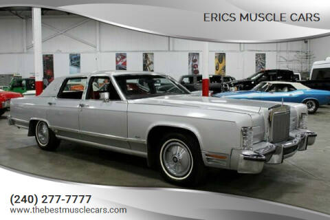 1984 Lincoln Town Car for sale at Erics Muscle Cars in Clarksburg MD