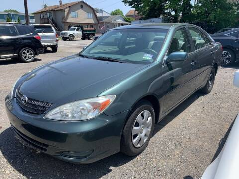 2004 Toyota Camry for sale at Charles and Son Auto Sales in Totowa NJ