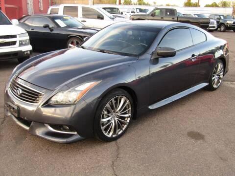 2013 Infiniti G37 Coupe for sale at Van Buren Motors in Phoenix AZ