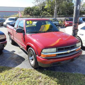 2003 Chevrolet S-10 for sale at Easy Credit Auto Sales in Cocoa FL