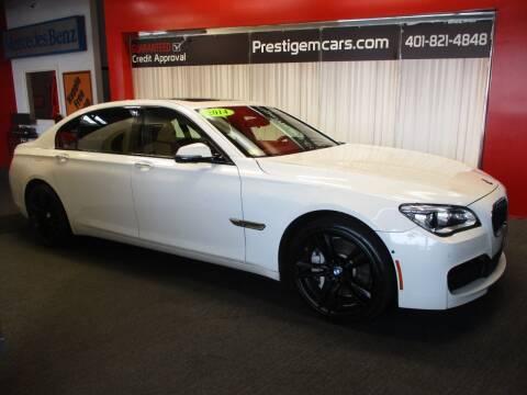 2014 BMW 7 Series for sale at Prestige Motorcars in Warwick RI
